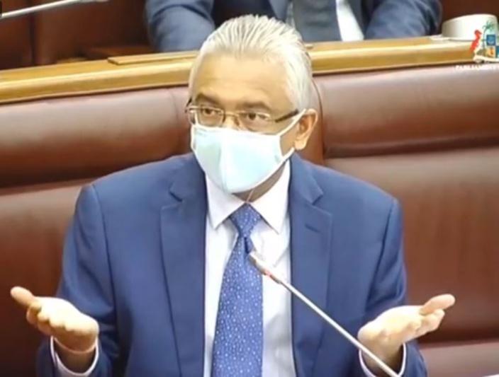 Covid-19 Bill et Quarantine Bill votés par le gouvernement de Pravind Jugnauth