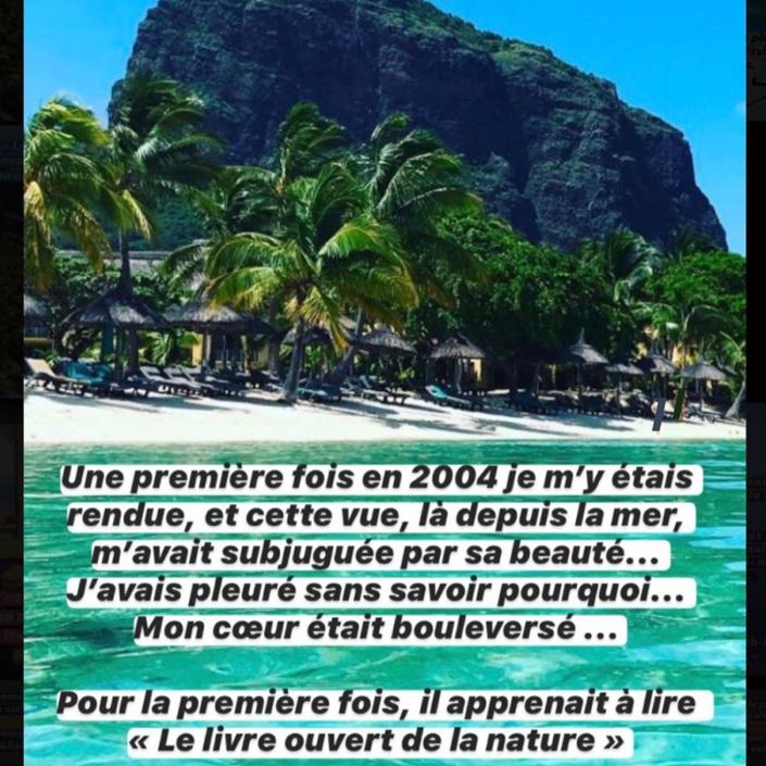 La rappeuse Diam's publie des photos inédites du jour où elle s'est convertie à l'Islam sur une plage de l'Île Maurice