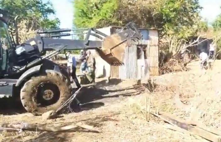 Après Curepipe, démolition et évacuation des squatter à Pointe-aux-Sables
