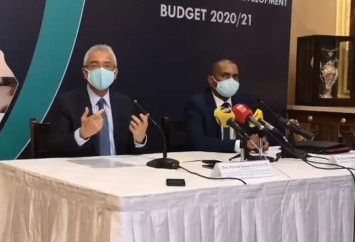 Un budget pour relever un pays à genou selon Pravind Jugnauth