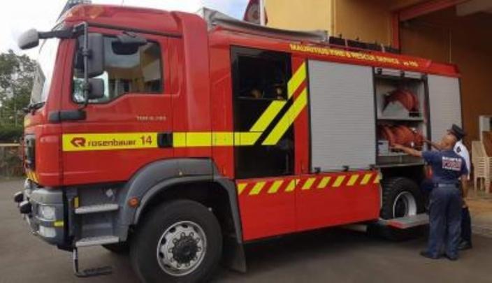 Cinq maisons ravagées par les flammes à Tranquebar