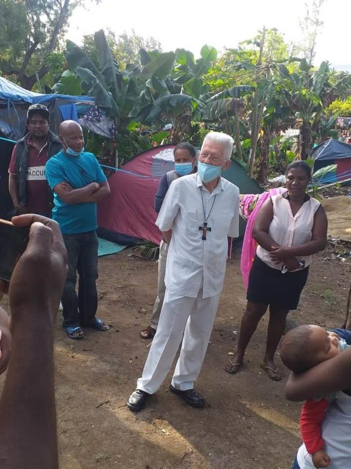 Squatters : Le Cardinal Piat met les points sur les i et tacle la MBC
