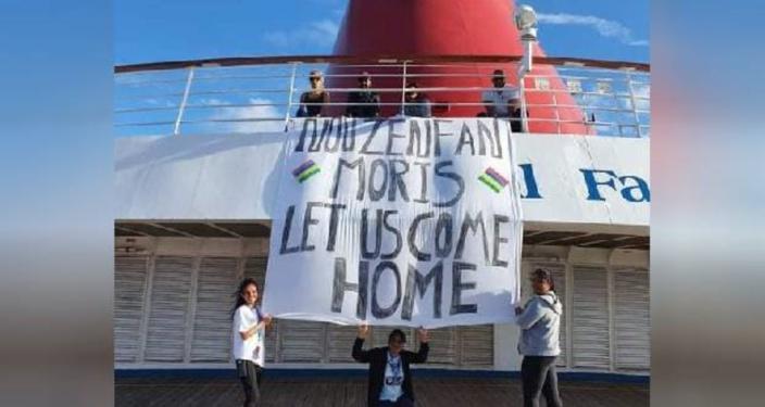 Rapatriement annulé pour des Mauriciens bloqués à bord d'un bateau de croisière