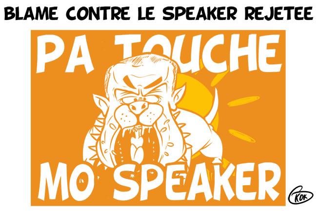 [KOK] Le dessin du jour : Pa Touche Mo Speaker
