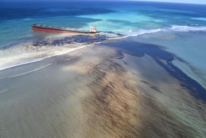 Marée noire à l'île Maurice. La compagnie japonaise, Mitsui OSK Lines, déjà impliquée dans plusieurs accidents