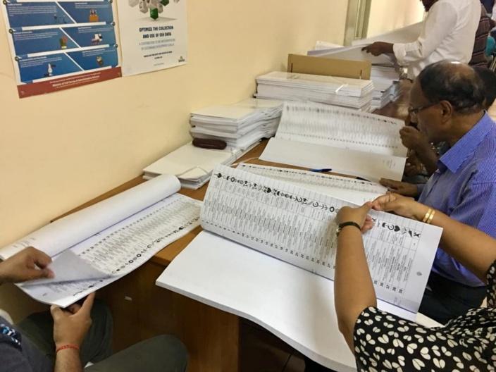 Commission électorale : 943 158 personnes inscrites sur les listes électorales