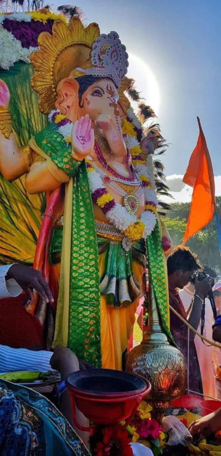 L'île Maurice fête Ganesh Chaturthi ce dimanche