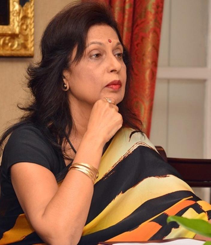 Maya Hanoomanjee Haut commissaire en Inde et son époux placés en quarantaine
