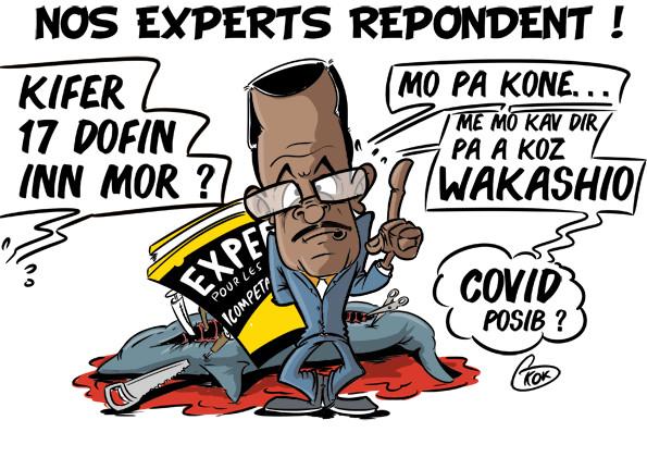 L'actualité vu par KOK : Nos experts répondent