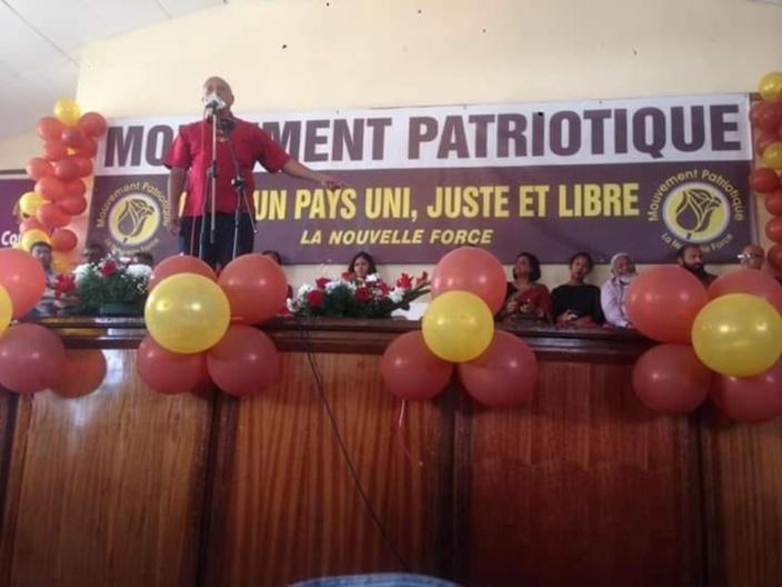 Kandhai remplace Barbier à la présidence du Mouvement Patriotique