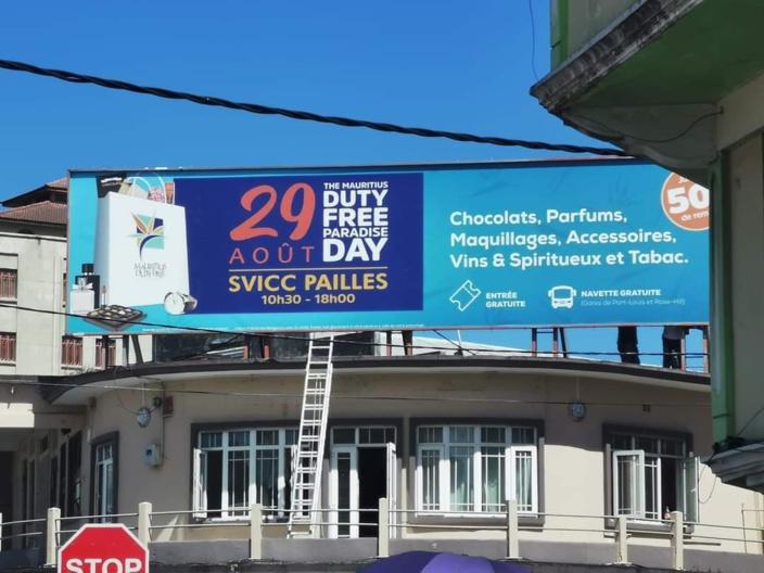 Mauritius Duty Free Paradise Day : Une plainte enregistrée pour affichage illégale