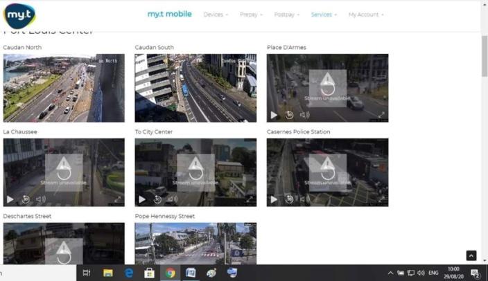 Port-Louis : Les caméras de surveillance de Mauritius Telecom en panne ce samedi