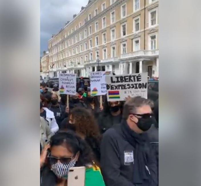 [Vidéo] Marche du 29 août : La solidarité mauricienne a vibré à Londres