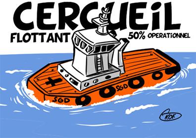 L'actualité vu par KOK : Le Sir Gaëtan Duval un cercueil flottant