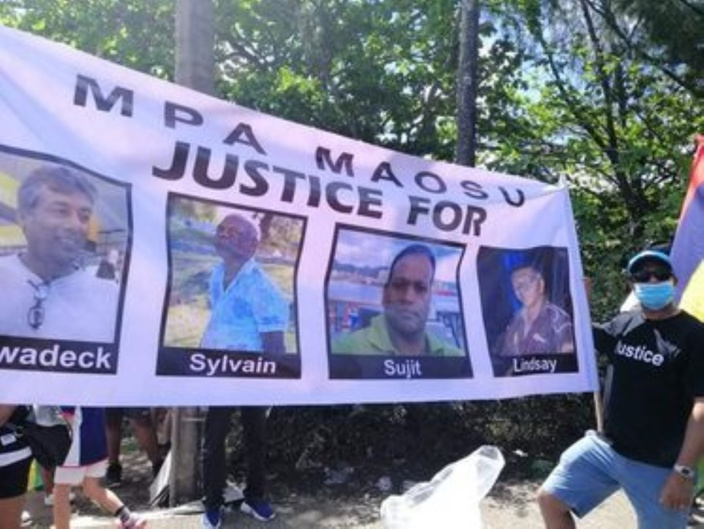 L'image du jour : Justice au nom des naufragés du Sir Gaëtan Duval