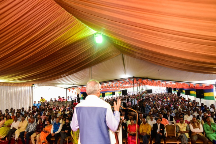 Le délirant discours de Pravind Jugnauth chez les Vaish