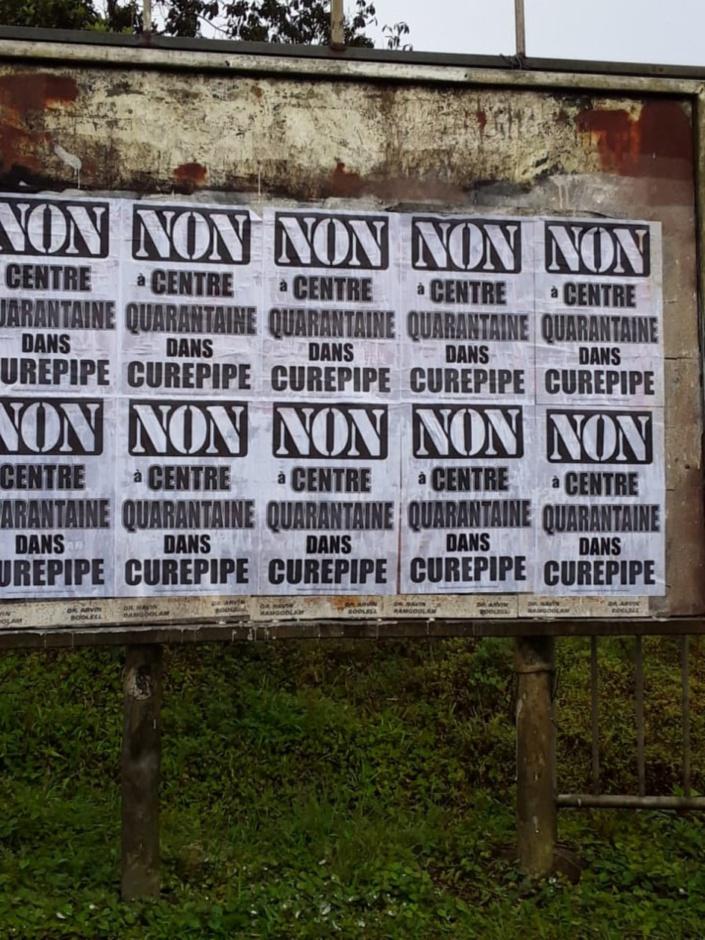 Vu à Curepipe...la résistance s'organise