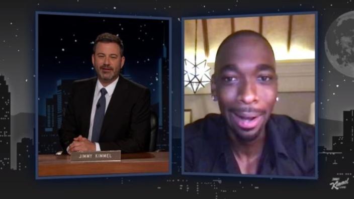 [Vidéo] Dans le show de Jimmy Kimmel, l'acteur Jay Pharoah en tournage à l'île Maurice parle de sa quarantaine