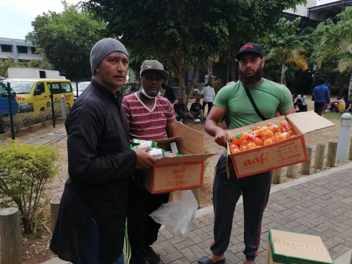 Accident à Pailles: le très beau geste de solidarité de Huzaifah Emambocus salué par les Mauriciens