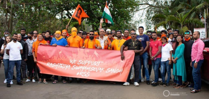 Vishal Shibchurn, membre de Hindu Shakti Sena, porte plainte contre Roshi Bhadain