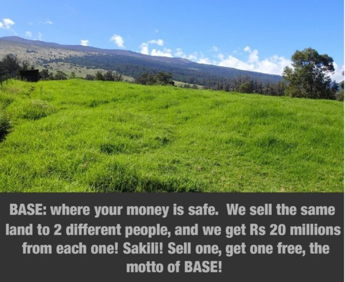 [Paul Lismore] Bel Air Sugar Estate (BASE): where you can double your money for the same plot of land...
