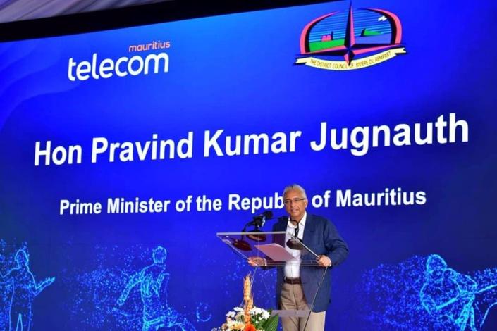 "Pravind Jugnauth : "" PTr ek PMSD ine soutir la mafia ek trafikan la drogue"""