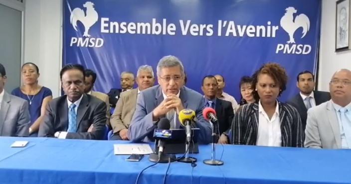 XLD : « La présence de Sawmynaden au Cabinet entrave l'enquête judiciaire »