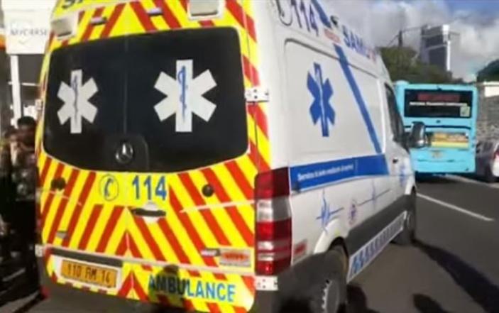 Huit blessés dans un accident devant les Casernes centrales