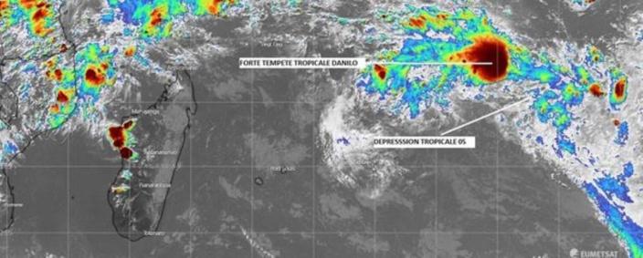Activité cyclonique : Danilo représente une menace plus sérieuse pour Maurice à partir de ce vendredi