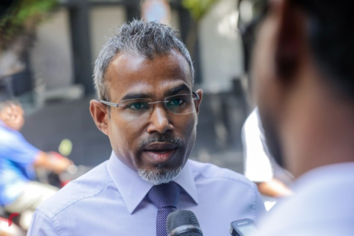 L'Attorney General des Maldives, Ibrahim Riffath