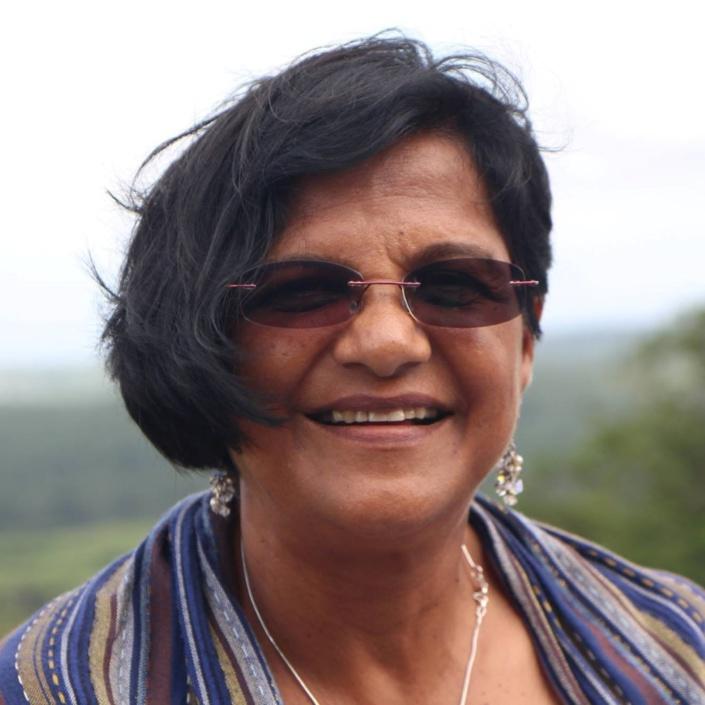 Neena Ramdenee, secrétaire générale du Mouvement patriotique au CCID