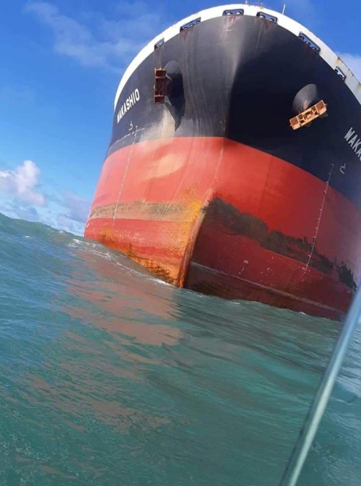 L'équipage du Wakashio a lutté contre l'eau qui inondait la salle des machines