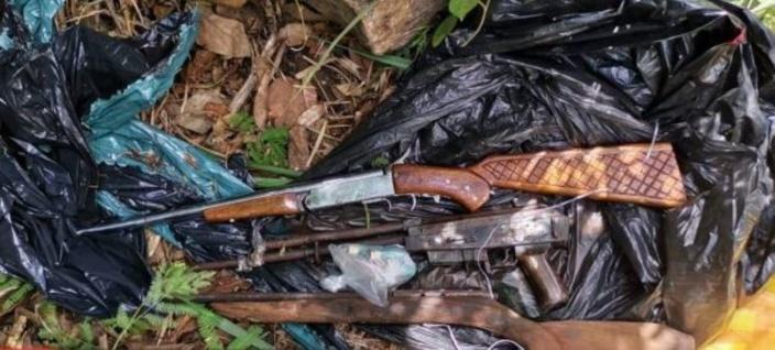 Des fusils de chasses et des munitions retrouvés à Beaux-Songes