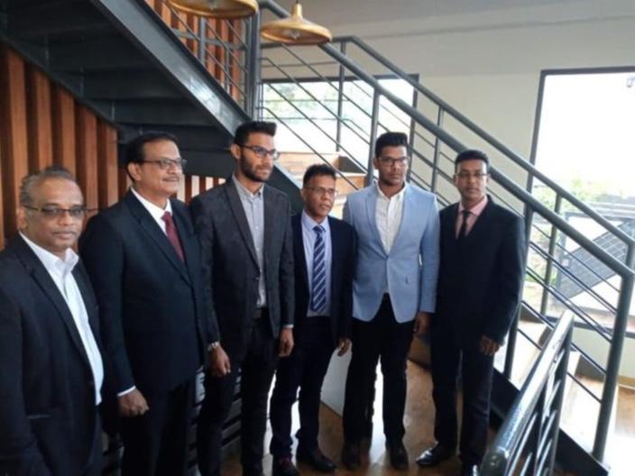 Quand Sudhir Maudhoo, Vikash Nuckcheddy et Reza Foolah prennent la pause