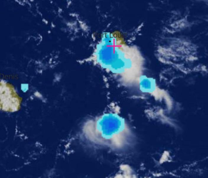 Intempéries : Grosses averses sur l'île