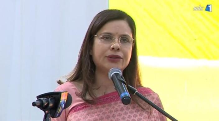 L'épouse du Premier ministre, Kobita Jugnauth mène une politique active sur le terrain