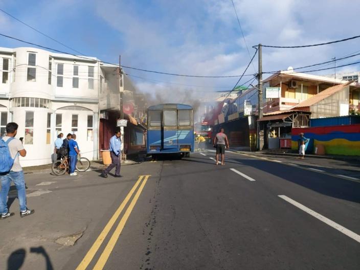 Nouvelle-France : incendie dans un autobus transportant des élèves