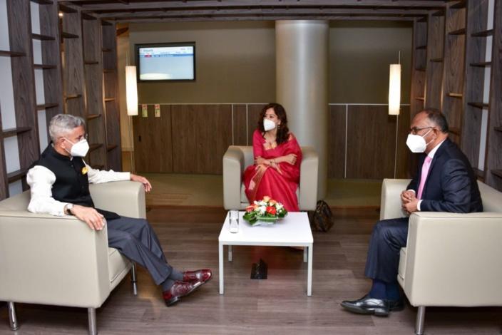 Le ministre des affaires étrangères indien, le Dr Subrahmanyam Jaishankar en visite officielle à Maurice