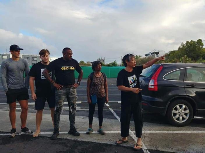 Les habitants de Rivière Noire et Tamarin réclament l'arrêt de la construction Legend Hill