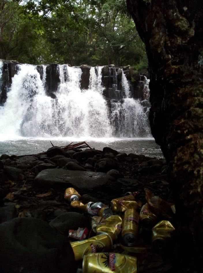 A Rochester Falls, un site rempli de cochonneries