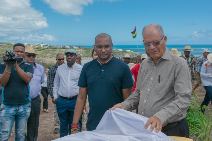 Padayachy découvre Rodrigues