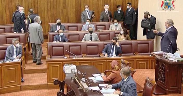 Bérenger, Bhagwan et Boolell pourraient être suspendus jusqu'aux prochaines élections générales