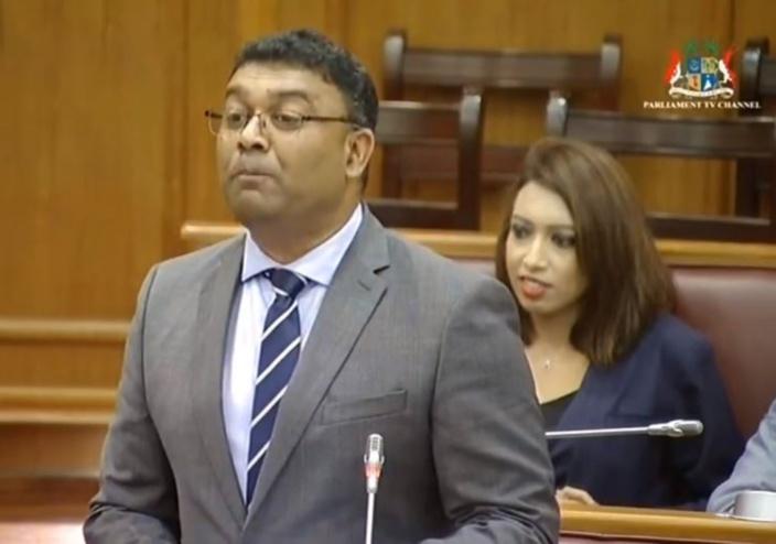Kistnen aurait eu une dette de Rs 400 000 envers Samynaden