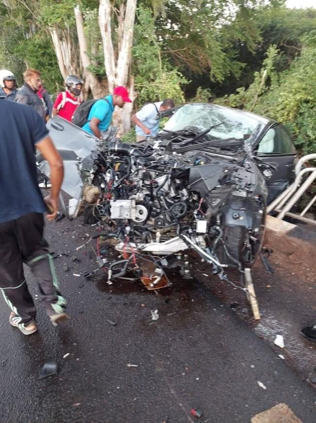 Gros-Cailloux : motocycliste trouve la mort dans une collision avec un 4x4 de sécurité Brinks