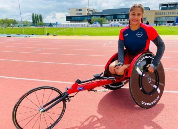 Grand Prix de Nottwil en Suisse : La Mauricienne Noemi Alphonse termine à la 2e place en finale du 100m (T54