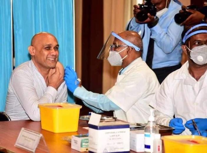225 342 personnes ont reçu la première dose du vaccin à Maurice