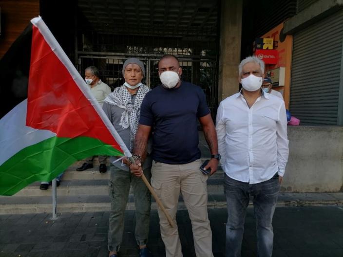 Manifestation de soutien à la cause palestinienne : Bruneau Laurette convoqué au CCID
