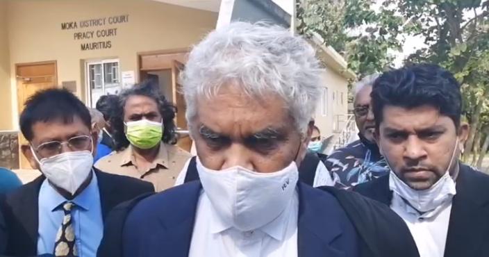 En cours de Moka, petite polémique entre Narghis Bundhun et Rama Valayden