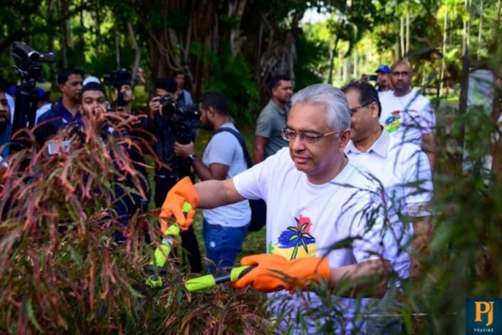 Pravind Jugnauth relancera une énième campagne de nettoyage à travers l'île
