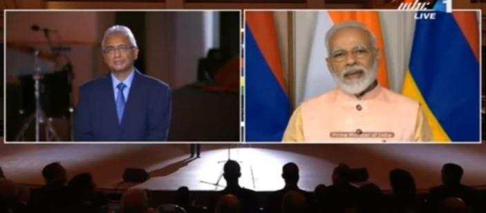 [Vidéo] Quand Pravind Jugnauth était contre le Metro express et pleurnichait auprès de Narendra Modi